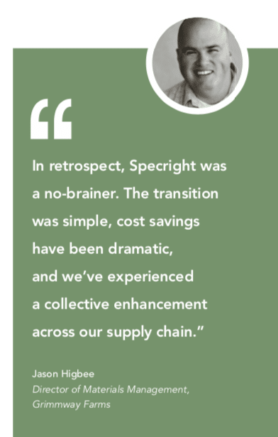Grimmway Farms Specright Quote