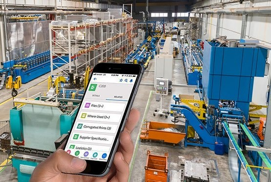 Specright on iPhone for Process Management in Manufacturing plant
