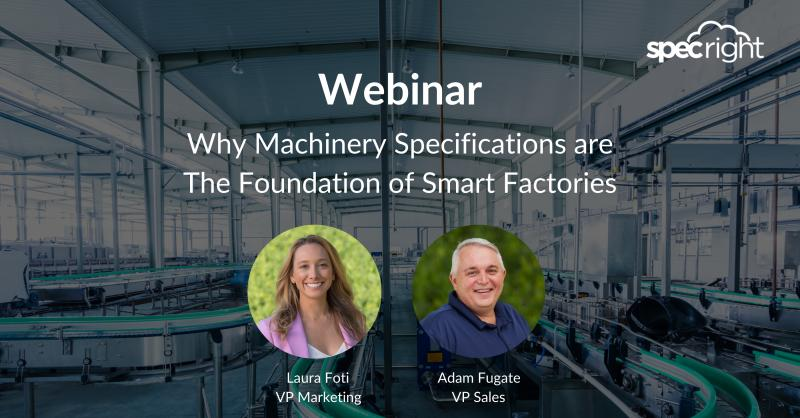 Why Machinery Specs are the Foundation of Smart Factories