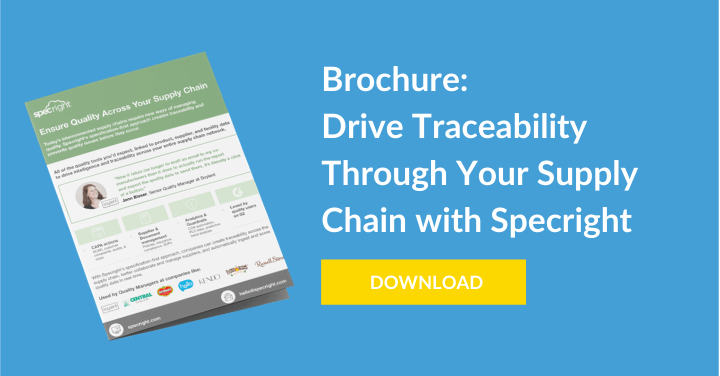 Drive Traceability Through Your Supply Chain with Specright