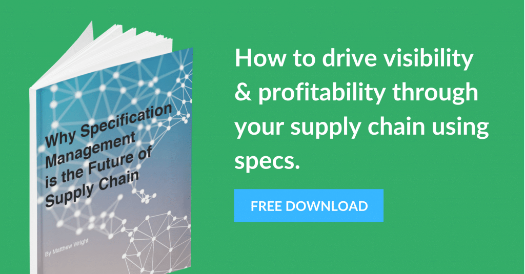 Why Specification Management is the Future of Supply Chain eBook