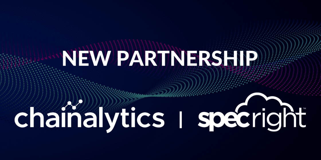 Specright Partners with Chainalytics for Packaging and Supply Chain Expertise
