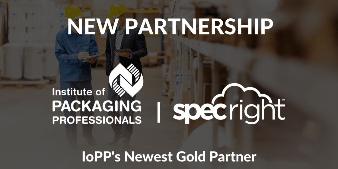 Specright Announces Partnership with the Institute of Packaging Professionals (IoPP)